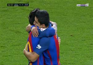 ميسي يتعادل لبرشلونة بهدف رائع في شباك ريال مدريد