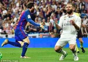 هدف ميسي القاتل لبرشلونة في مرمى الريال بالكلاسيكو