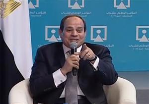 """السيسي: """"أعتذر لأهالي سيناء عن سقطات الإعلام.. طولوا بالكم عليا"""""""