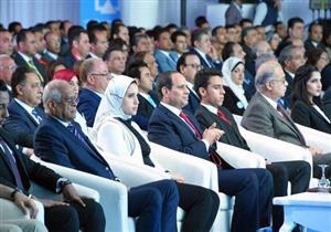افتتاح الرئيس لمؤتمر الشباب يستحوذ على عناوين الصحف الصادرة الثلاثاء