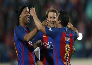 أهداف (أساطير برشلونة 3 - أساطير ريال مدريد 2)