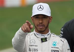 هاميلتون يحطم رقم شوماخر القياسي في سباق فورمولا1 الصيني