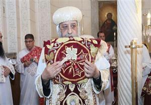 البابا تواضروس يترأس صلوات ختام احتفالية مرور 50 عاما على ظهور العذراء بالزيتون