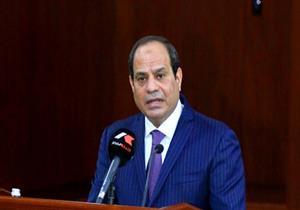 """السيسي لـ""""المصريين"""": """"اللي شفتوه النهاردة مش هيعدي كده"""""""