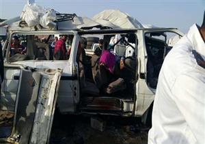 """ارتفاع أعداد ضحايا حادث طريق """"بورسعيد - الإسماعيلية"""" لـ9 وفيات"""