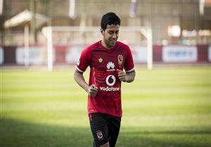 حمودي يسجل أول أهدافه مع الأهلي في الدوري