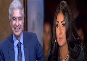 """متصل يفاجئ الإبراشي: """"طلقت مراتي بسبب غادة عبدالرازق"""" - فيديو"""