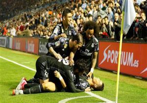 بالفيديو.. ريال مدريد على بعد نقطة للتتويج بالليجا بعد الفوز على سيلتا برباعية