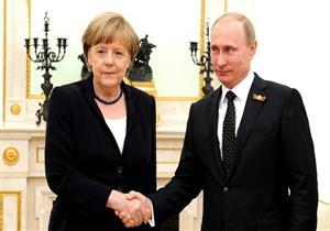 ميركل تنهي محادثاتها مع بوتين