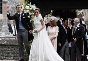 الصور الأولى من حفل زفاف شقيقة كيت ميدلتون
