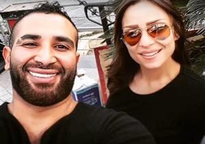 ريم البارودي توضح كيف علمت بزواج أحمد سعد وسمية الخشاب