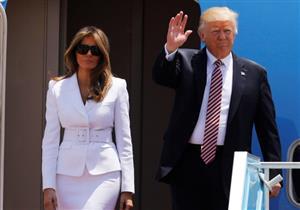 """بالفيديو.. ردود فعل ساخرة بعد """"صفع"""" ميلانيا يد ترامب"""