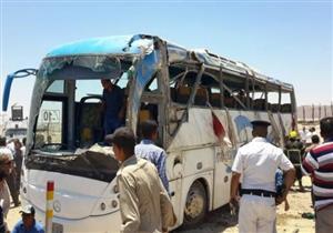 التحريات: 8 مسلحين نفذوا الهجوم على أتوبيس المنيا