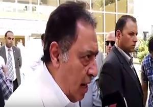 تصريح وزير الصحة بشأن حادث المنيا اثناء تفقده المصابين