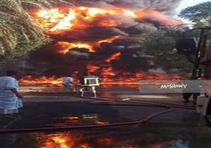 بدء حصر التعويضات لمصابي حريق محطة وقود أسوان