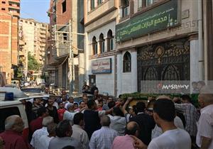 بالصور.. تشييع جثمان الإعلامية صفاء حجازي بمسقط رأسها في الدقهلية