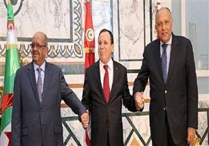 اجتماع وزراء خارجية الجزائر ومصر وتونس لتقييم الوضع في ليبيا