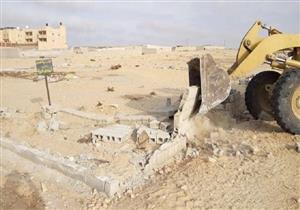 إزالة تعديات على 4 آلاف فدان في شمال سيناء