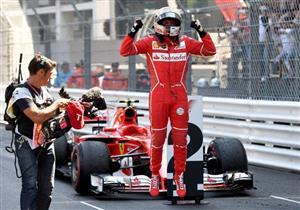"""فيتل يحصد لقب موناكو بـ""""فورمولا-1"""" ويهدي فيراري لقبها الأول منذ 2001"""