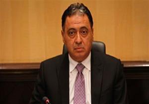 وزير الصحة يزور مصابي حادث قطاري الإسكندرية