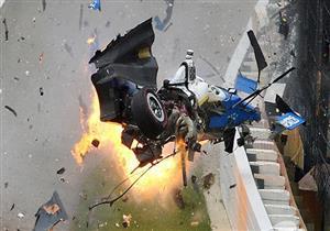 بالفيديو.. سائق فورمولا 1 ينجو في حادث مدمر على حلبة إنديانابوليس 500
