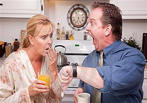 هذا ما حدث لزوجة تاخرت في إعداد الطعام