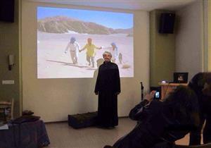 مغامرة في جبال سيناء.. سيد يُنقذ سائحا ألمانيا من الموت