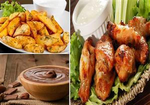 """لأكيلة الـ""""سبايسي"""" على الإفطار.. دجاج وبطاطس مكسيكية.. والحلو مهلبية النوتيلا بالمكسرات"""