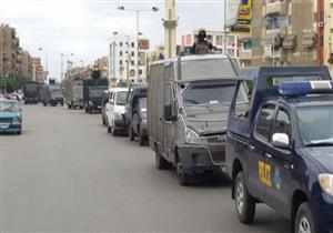ضبط 39 محكوما عليهم و11 قضية تموين خلال حملة أمنية بالعريش
