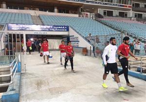 تدريب منتخب مصر الأخير استعداداً لمباراة تونس بتصفيات أمم إفريقيا