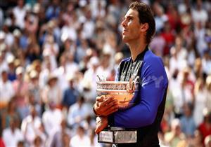 تتويج رافاييل نادال بطلاً لبطولة فرنسا المفتوحة للتنس