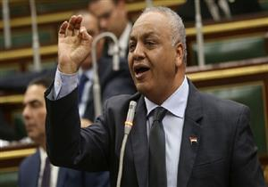 مصطفى بكري يتقدم ببيان عاجل لرئيس