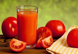 عصير الطماطم يقلل من خطر الإصابة بأمراض القلب