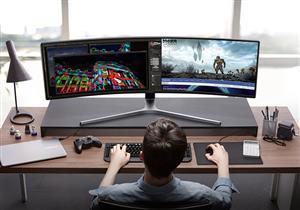 سامسونج تقدم شاشات جديدة لعشاق الألعاب