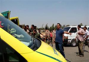 """مصرع سيدة وإصابة 12 شخصاً في انقلاب ميكروباص بـ""""بورسعيد- دمياط"""""""