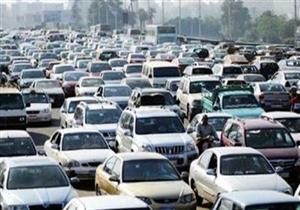 كثافات مرورية أعلى محور سعد الدين الشاذلي إثر انقلاب
