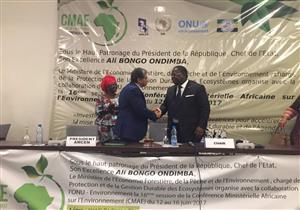 وزير البيئة يفتتح الدورة الـ16 لمؤتمر وزراء البيئة الأفارقة- صور