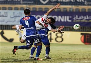 مباراة الزمالك وأسوان بالجولة الـ31 من الدوري المصري