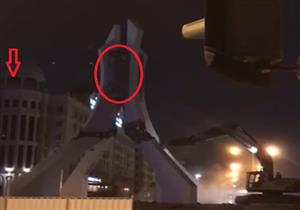 حقيقة الفيديو المتداول لهدم النصب التذكاري لمجلس التعاون الخليجي في قطر