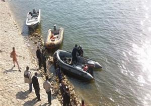 انتشال جثة شاب غرق في مياه النيل بمنطقة الصف