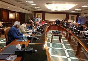 إجتماع لجنة الأندية مع ابو ريدة رئيس اتحاد الكرة