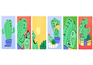 """لماذا اختار """"جوجل"""" نبات الصبار للاحتفال بـ """"يوم الأب""""؟"""