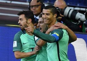 رونالدو يقود البرتغال لاجتياز عقبة روسيا بكأس القارات