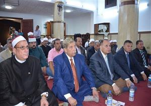 بالصور.. محافظ الإسماعيلية ومدير الأمن يشهدان الاحتفال بليلة القدر