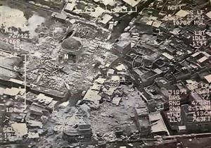 الجهاديون يفجرون منارة الحدباء التاريخية مع تقدم القوات العراقية بالموصل