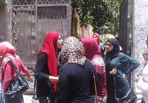 في امتحانات اليوم.. انقسام أراء طلاب الثانوي بالقلوبية (صور)