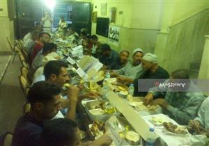 بالصور.. مركز شرطة دسوق ينظم إفطار جماعى للمواطنين بكفر الشيخ