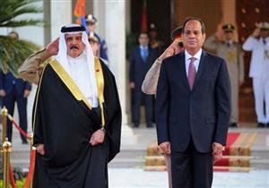 عاهل البحرين يهنىء السيسي بعيد الفطر