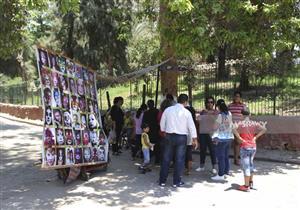 بالصور- طوارئ بحديقة الحيوان بالجيزة استعدادًا لاحتفالات عيد الفطر
