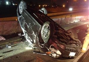 إصابة ٣ أشخاص في انقلاب سيارة ملاكي بالوادي الجديد